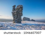weathering posts on the... | Shutterstock . vector #1046607007