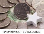 a quarter of florida  quarters... | Shutterstock . vector #1046630833