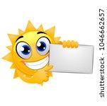 vector illustration of sun... | Shutterstock .eps vector #1046662657