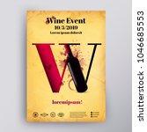poster or brochure design... | Shutterstock .eps vector #1046685553