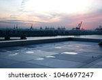 view of the hamburg industrial...