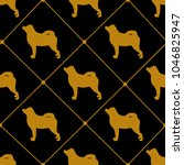 vector seamless pattern of... | Shutterstock .eps vector #1046825947