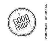 illustration for good friday | Shutterstock .eps vector #1046854537