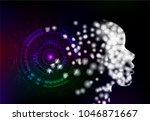 artificial intelligence... | Shutterstock .eps vector #1046871667
