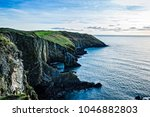 scenic view of cliffs in  old...   Shutterstock . vector #1046882803