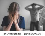 angry father yelling at his...   Shutterstock . vector #1046909107