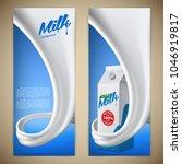milk design flyer vector... | Shutterstock .eps vector #1046919817