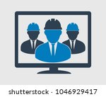online technical support team...   Shutterstock .eps vector #1046929417