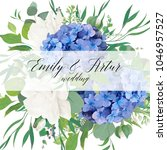 Wedding Floral Invite  Save Th...