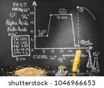 beer science   black board with ... | Shutterstock . vector #1046966653