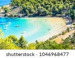 island of brac in croatia ... | Shutterstock . vector #1046968477