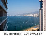 panoramic view of acapulco bay | Shutterstock . vector #1046991667
