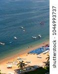 beach at acapulco mexico ... | Shutterstock . vector #1046993737