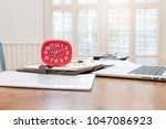 business and finance concept of ... | Shutterstock . vector #1047086923