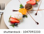 the view of french food | Shutterstock . vector #1047092233