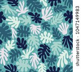 the seamless pattern with... | Shutterstock .eps vector #1047149983