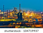 an industrial area of   the... | Shutterstock . vector #104719937