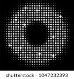 vector silver disco lights... | Shutterstock .eps vector #1047232393