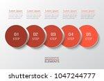 vector business template for... | Shutterstock .eps vector #1047244777