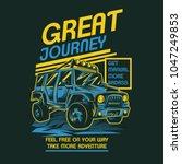 great journey illustration   Shutterstock .eps vector #1047249853
