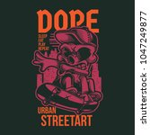 street kid illustration   Shutterstock .eps vector #1047249877