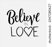 vector illustration of believe... | Shutterstock .eps vector #1047280627