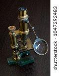 Old Microscope  Medicine