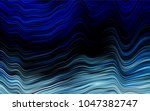 dark blue vector pattern with... | Shutterstock .eps vector #1047382747