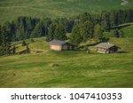 summer in alpe di siusi seiser... | Shutterstock . vector #1047410353