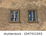 old  abandoned cellulose... | Shutterstock . vector #1047411343