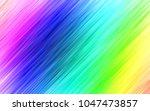 light multicolor  rainbow... | Shutterstock .eps vector #1047473857