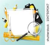 modern design template with...   Shutterstock .eps vector #1047509347