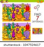 cartoon illustration of finding ... | Shutterstock .eps vector #1047524617