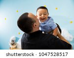 hapiness and beatiful family | Shutterstock . vector #1047528517