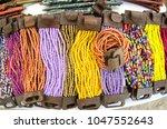 mexican handcrafts  san... | Shutterstock . vector #1047552643