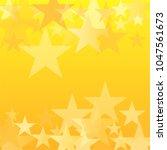 gold stars vector background.... | Shutterstock .eps vector #1047561673
