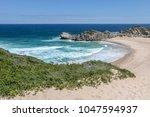 beautiful scenery of seascape...   Shutterstock . vector #1047594937