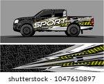 truck graphic vector kit....   Shutterstock .eps vector #1047610897