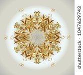 vector christmas abstract... | Shutterstock .eps vector #1047629743