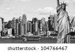 Photo New York City Black And...
