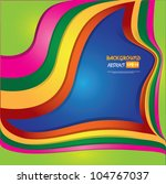 colorful abstract background... | Shutterstock .eps vector #104767037