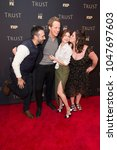 Small photo of New York, NY - March 15, 2018: Desmin Borges, Chris Geere, Aya Cash, Kether Donohue attend FX Annual All-Star Party at SVA theater