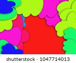abstract colorful background... | Shutterstock . vector #1047714013