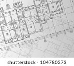 architectural background. part... | Shutterstock .eps vector #104780273