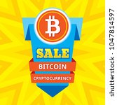 sale bitcoin blockchain...   Shutterstock .eps vector #1047814597