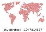 continental atlas composition...   Shutterstock .eps vector #1047814837
