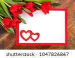 Greeting Card. White Sheet In...