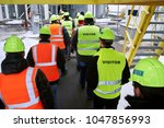 factory inspection. group of... | Shutterstock . vector #1047856993