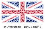 uk flag collage organized of...   Shutterstock .eps vector #1047858043