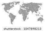 worldwide map composition... | Shutterstock .eps vector #1047898213